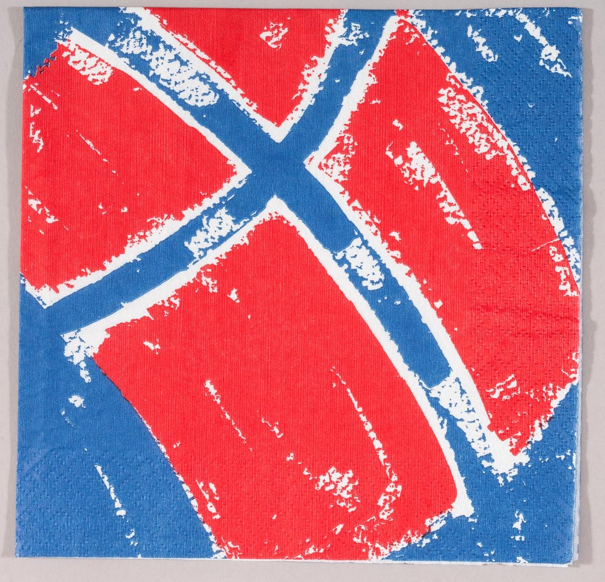 Det norske flagget.