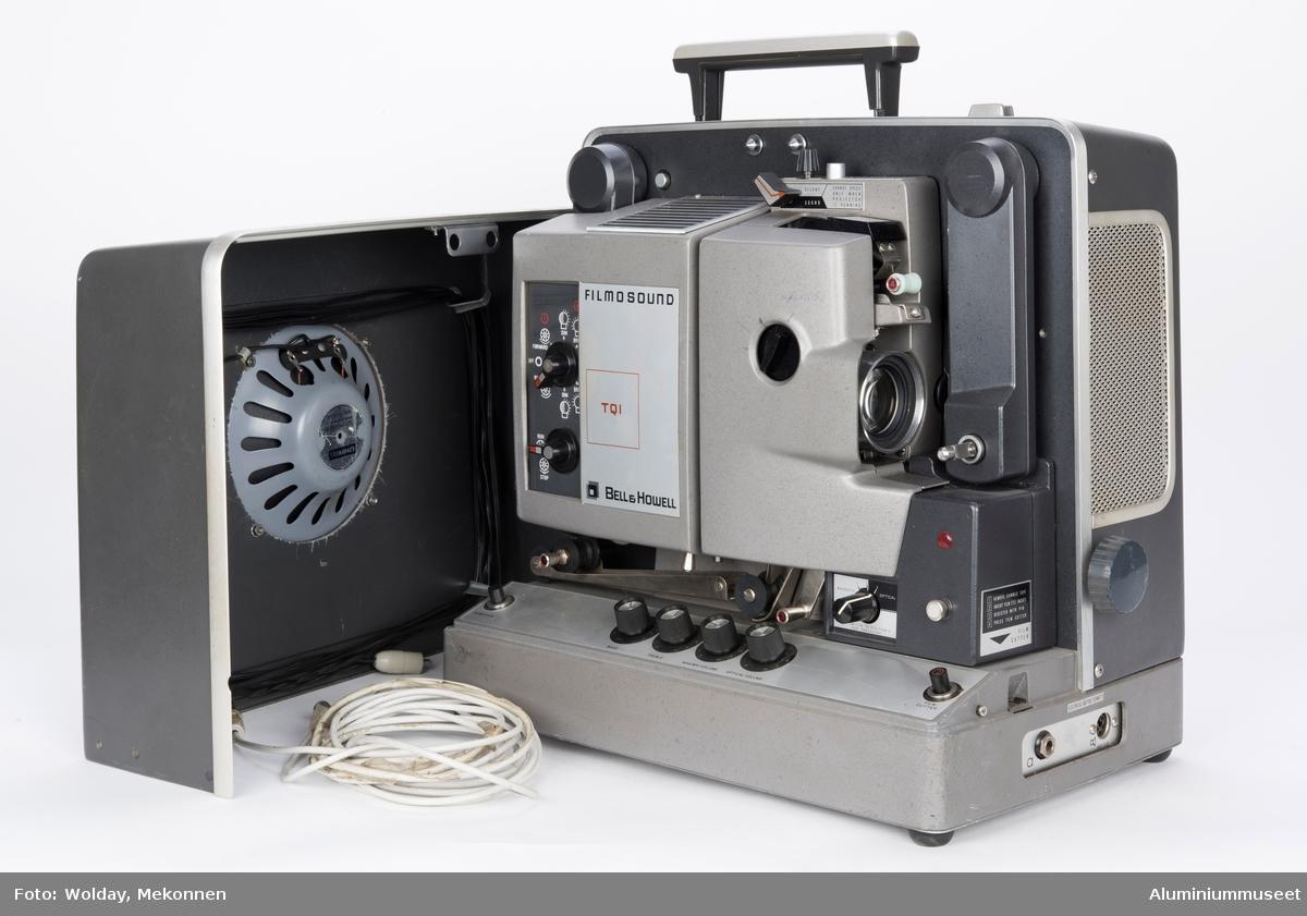 Fremviser for 16 mm film.  I ustand.