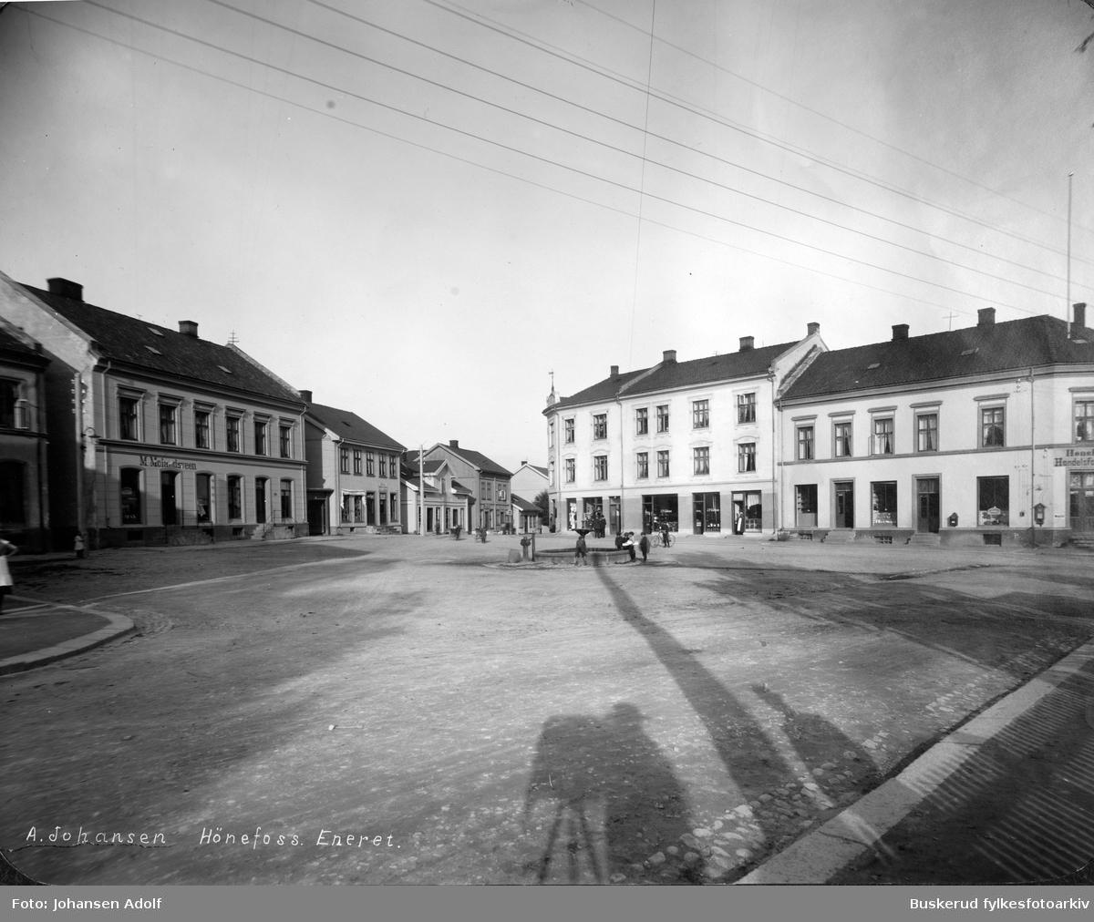 Nordre Torv i Hønefoss.