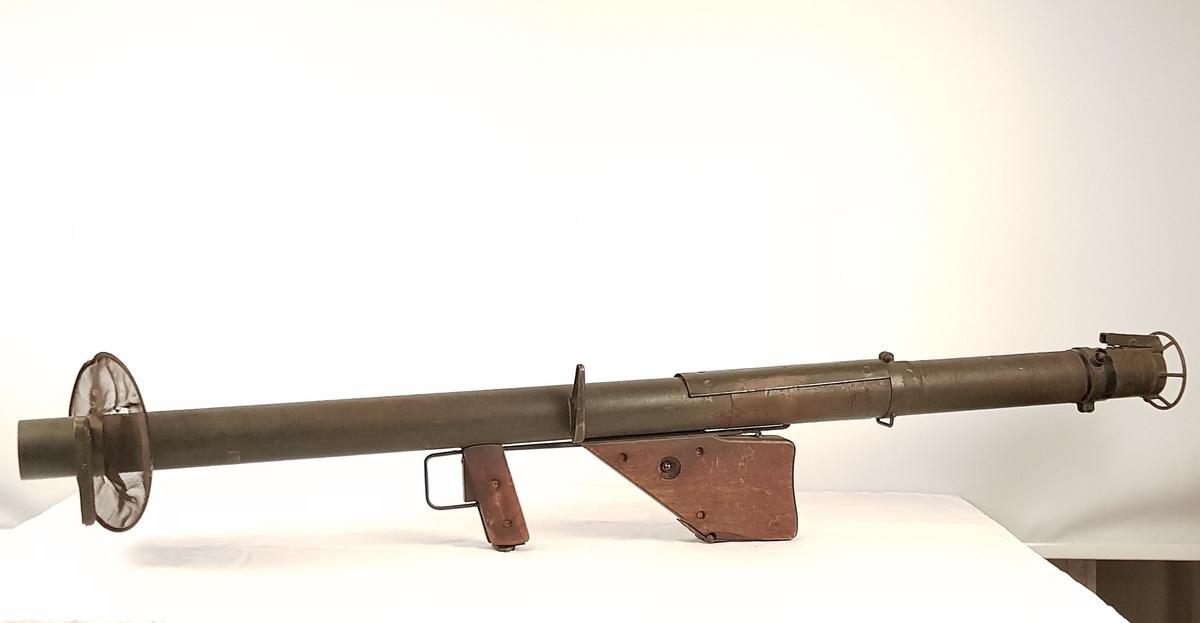 Bazooka med gnistfanger.