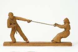 Äktenskap  [Skulpturgrupp]