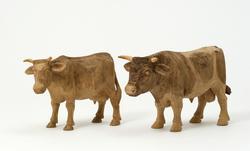 Tjur och Ko  [Skulpturgrupp]