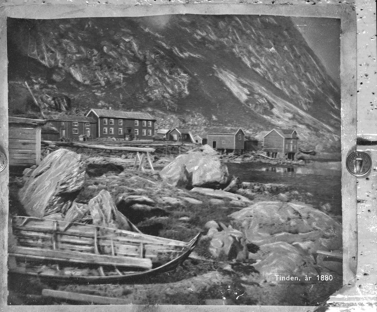 Tinden i Vesterålen år 1880