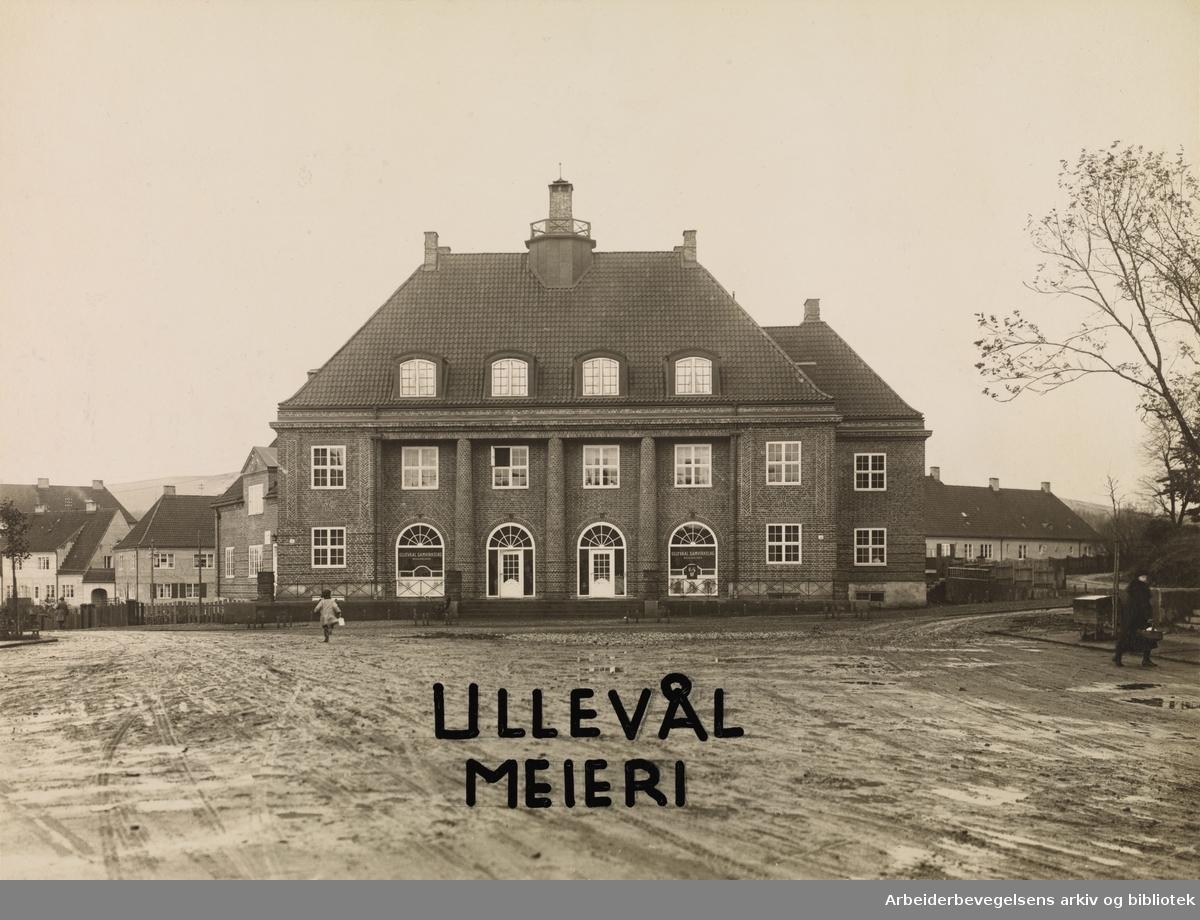 Ullevaal Meieri på Damplassen,1926.