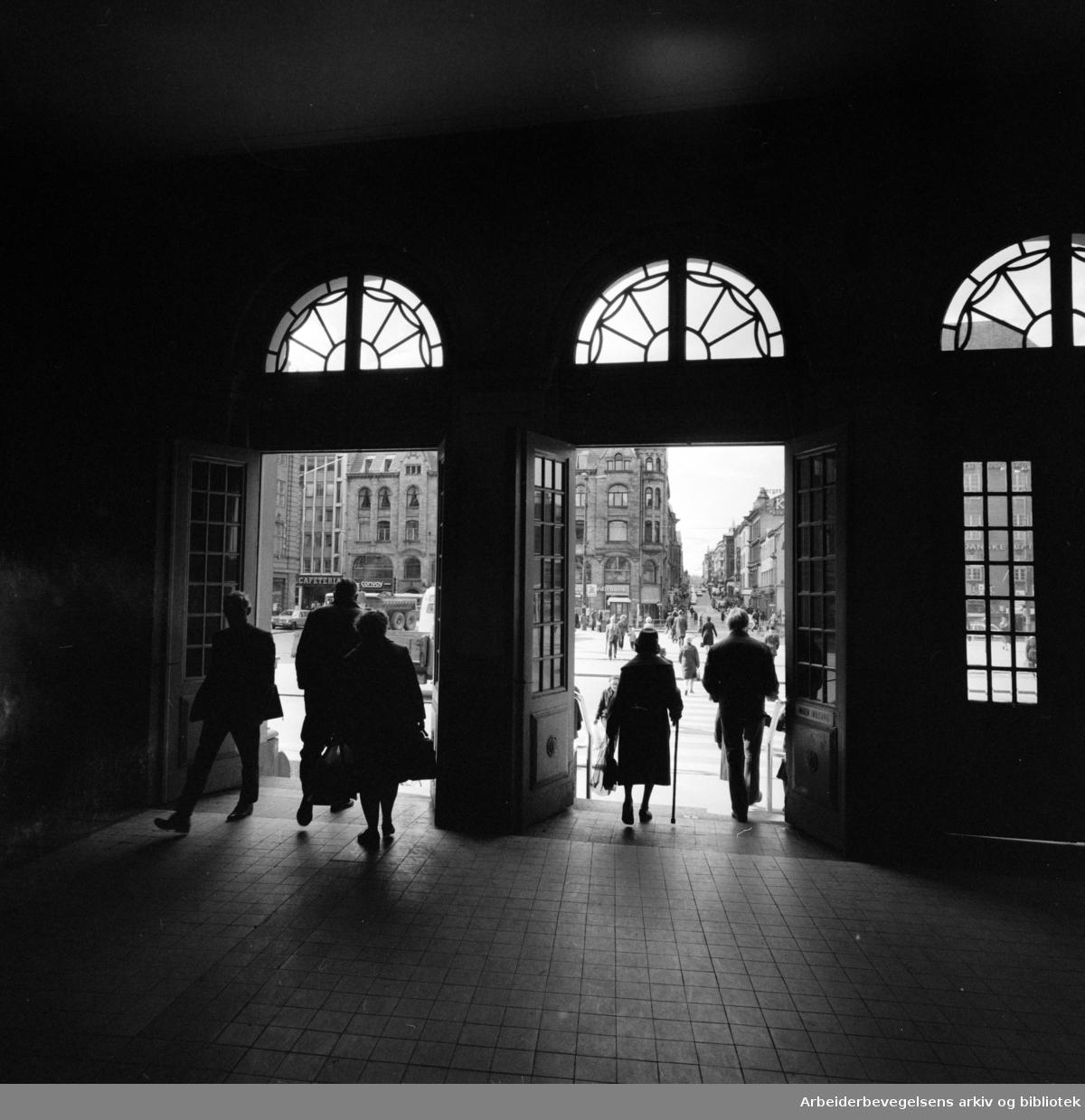 Østbanen. Mai 1973