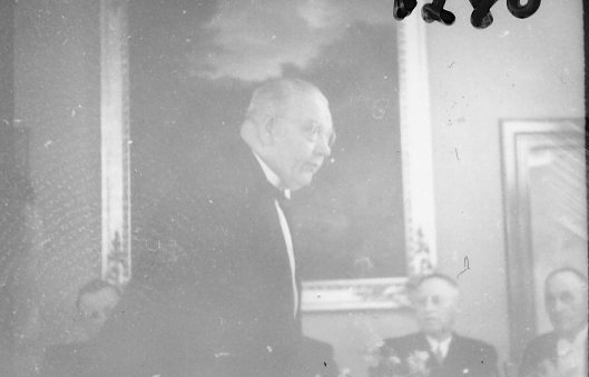 Jubileum 50 års, A 6. Underofficerskårens middag på stora Hotellet.