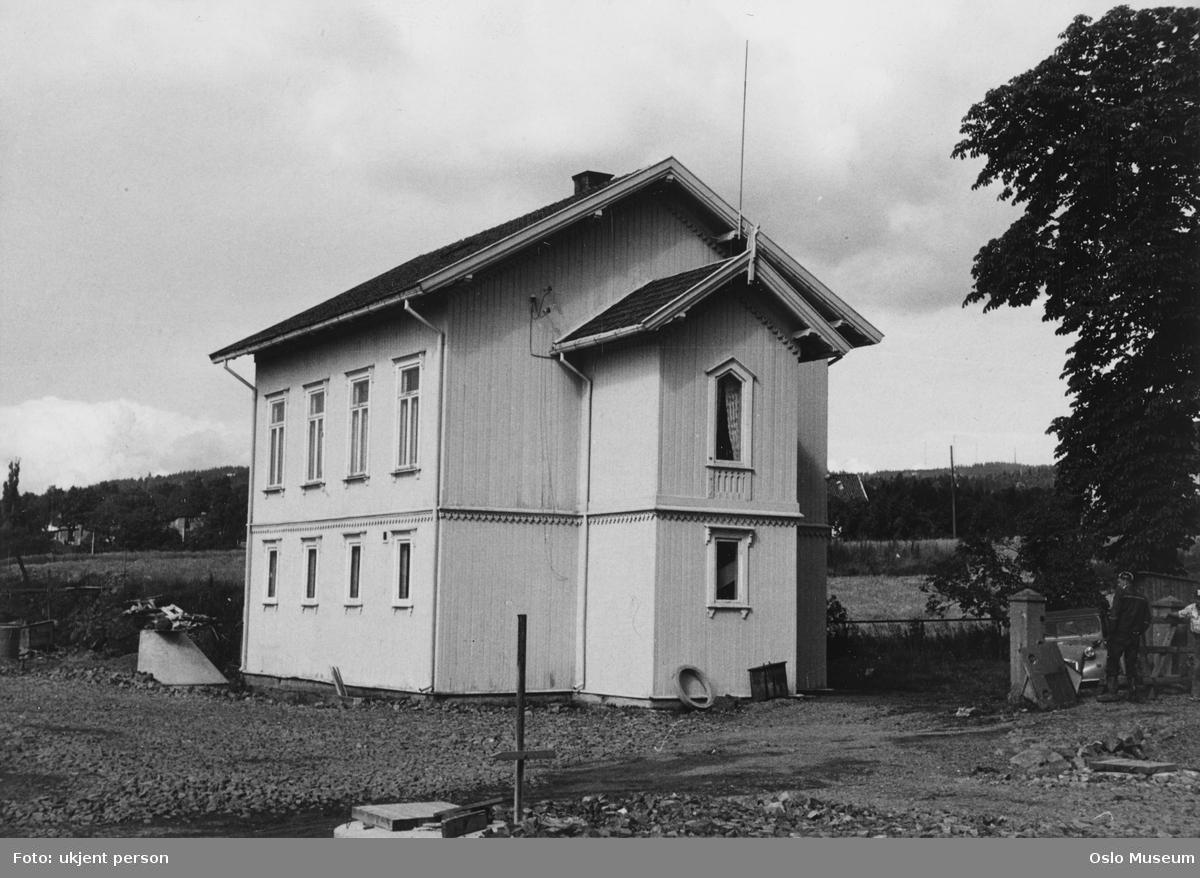 Vannverkets hus, jorde, kulturlandskap