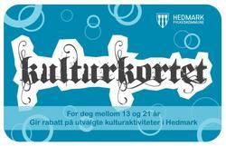 Besøkende mellom 16 og 22 år som har Hedmarks «Kulturkort for ungdom» kommer inn på museet for barnebillett. (Foto/Photo)