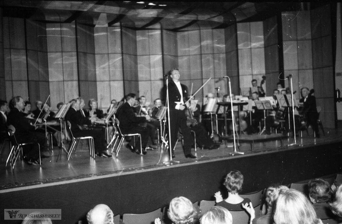 """""""oktober-november 1964"""".""""Randi Helseth"""".""""Arve Tellefsen"""".""""Orkesterforreninga"""""""