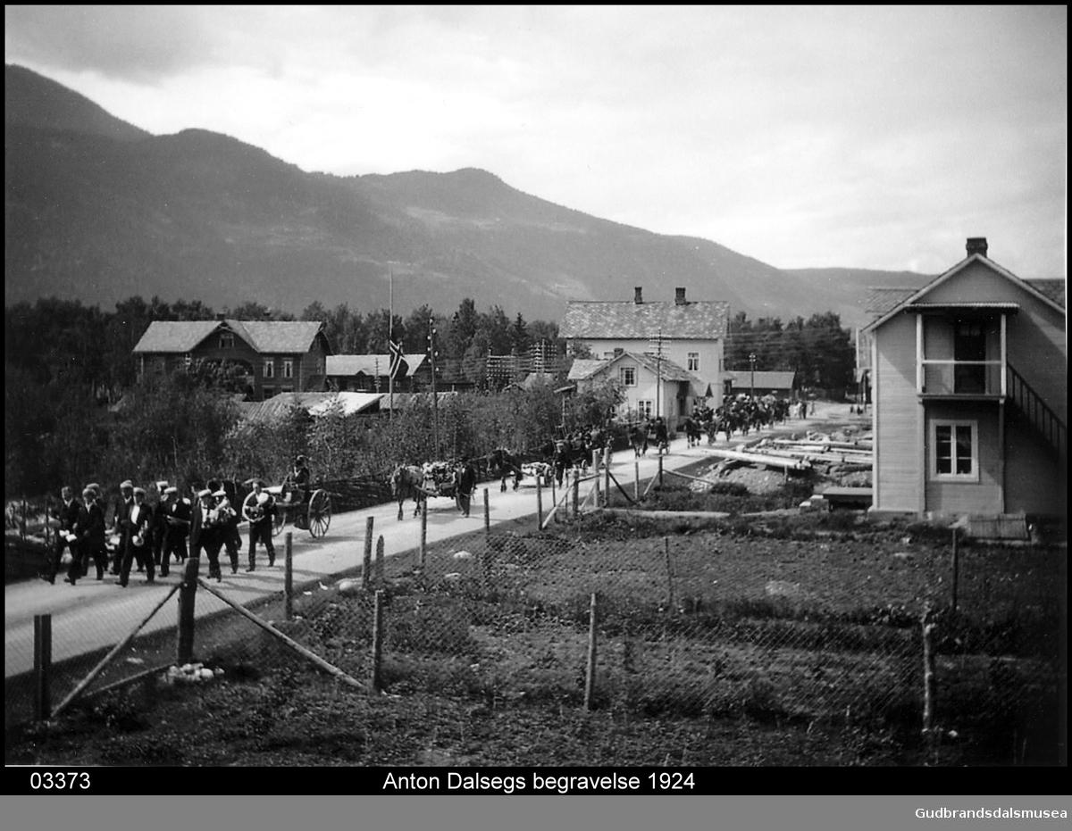 Anton Dalsegs bisettelse 1924