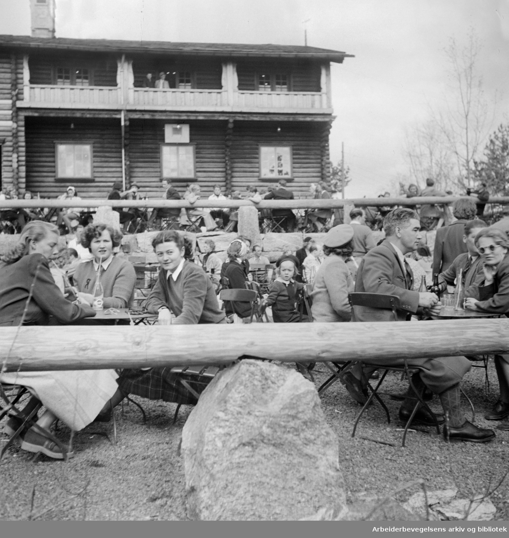 Østmarksetra. Juni 1962