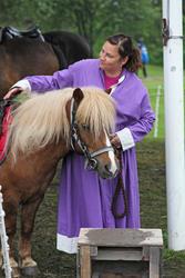Hest og leier