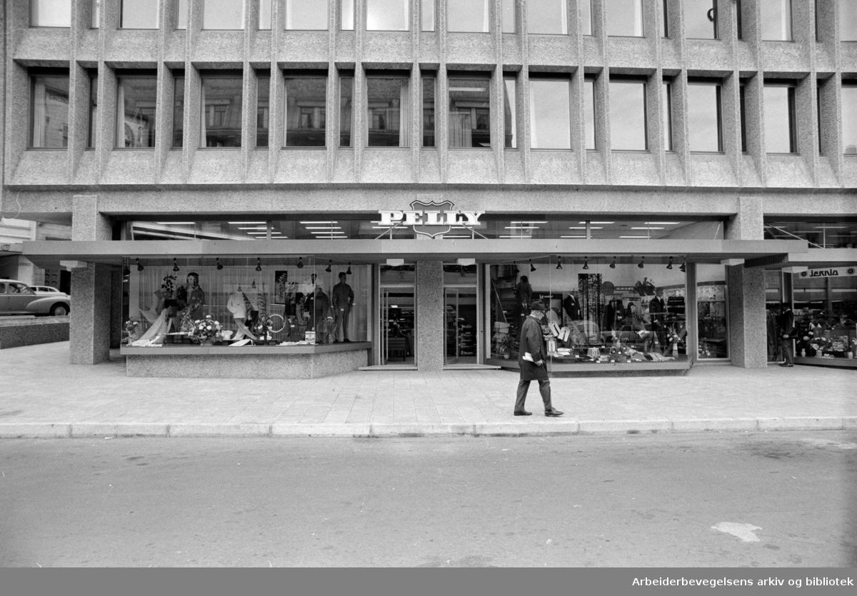 Pilestredet: Pelly. September 1969