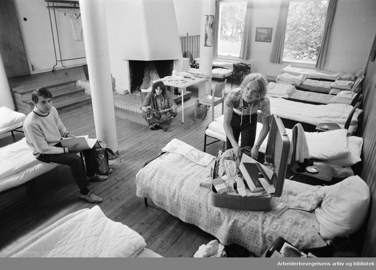 Lærergutthjemmet: Pilestredet 34. Johnny Nilsen fra Sortland. September1971