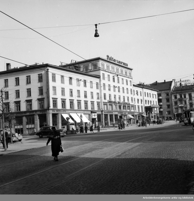 Majorstuhuset. 1950