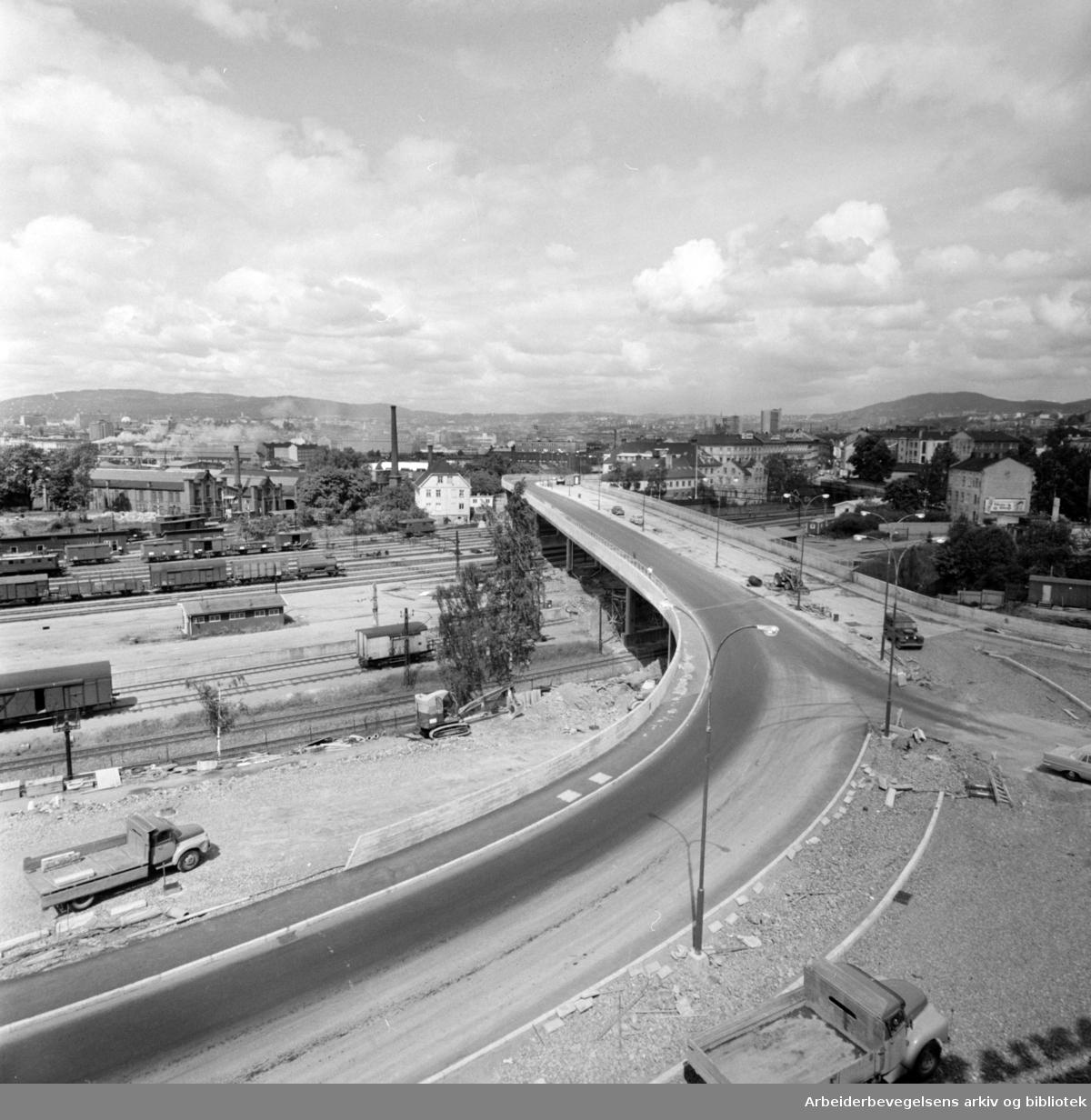 Loengbrua. Juni 1963