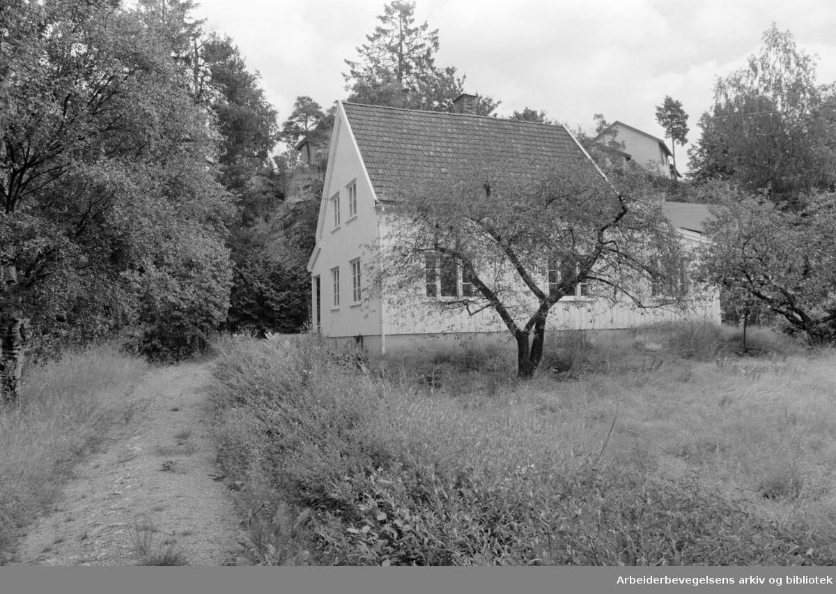 Hellerudveien 32. Juli 1971