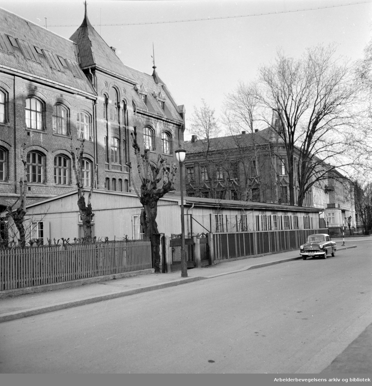 Halling skole. Mai 1958