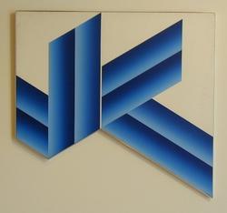 Komposisjon, rektangulær [Maleri]