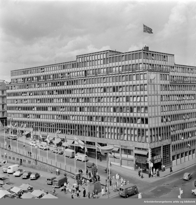 Folkets Hus. Juli 1966