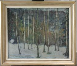 Vinterbilde [Maleri]