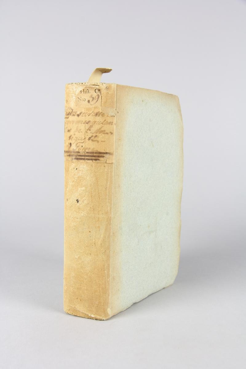 "Bok, pappband, ""Histoire secrette des femmes galantes  de l´antiquité"", del 5. Band av gråblått papper, oskuret snitt."