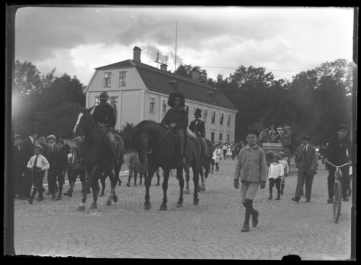 Karneval på Alingsås Idrottsförenings (AIFs) fest.