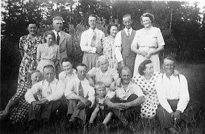 Personal på Skillingaryds läger och skjutfält.