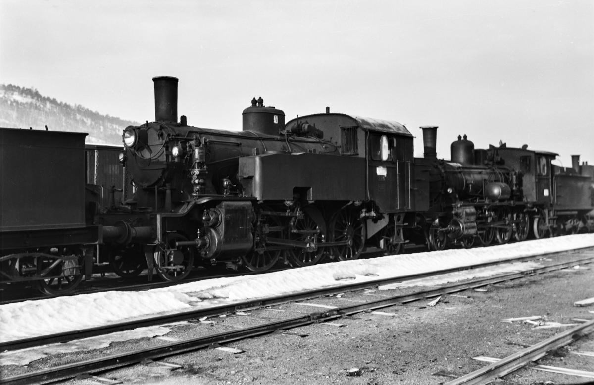 Hensatt damplokomotiv type 32a nr. 289 i Lodalen i Oslo.
