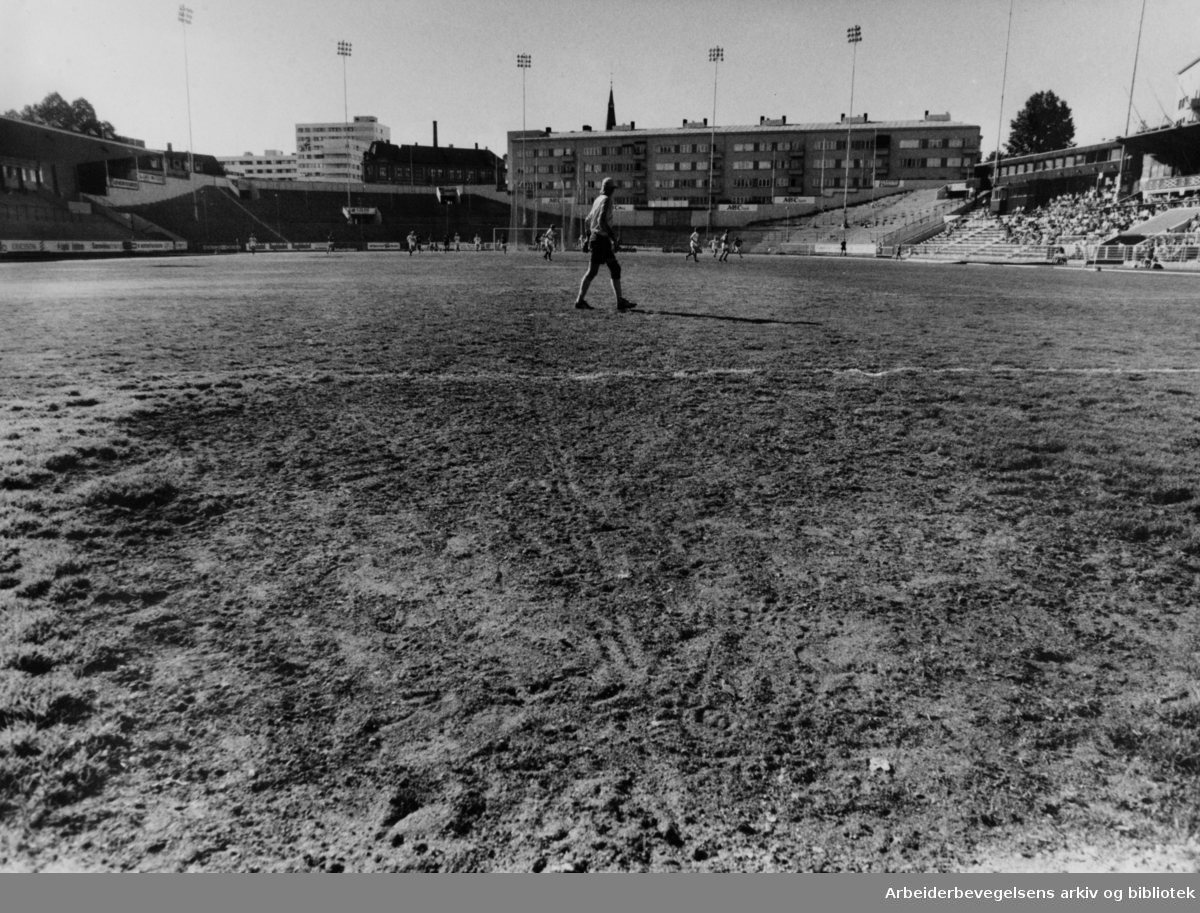 Bislett Stadion. Juni 1986
