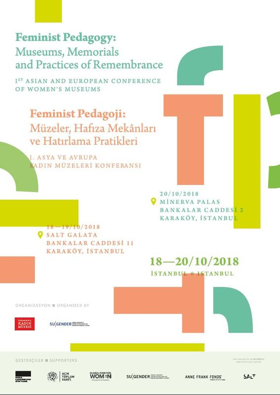 """Feminist Pedagogy"" poster (Foto/Photo)"