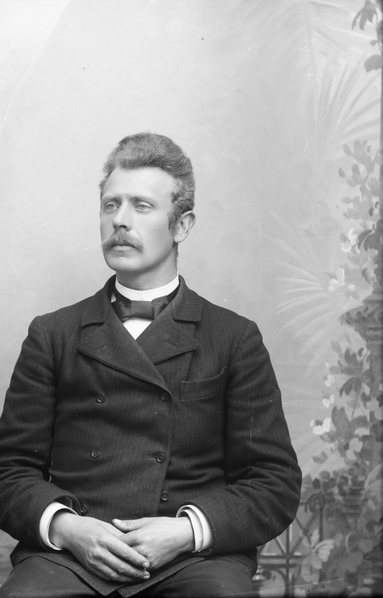 Portrett, brystbilde, Fredrik Müller