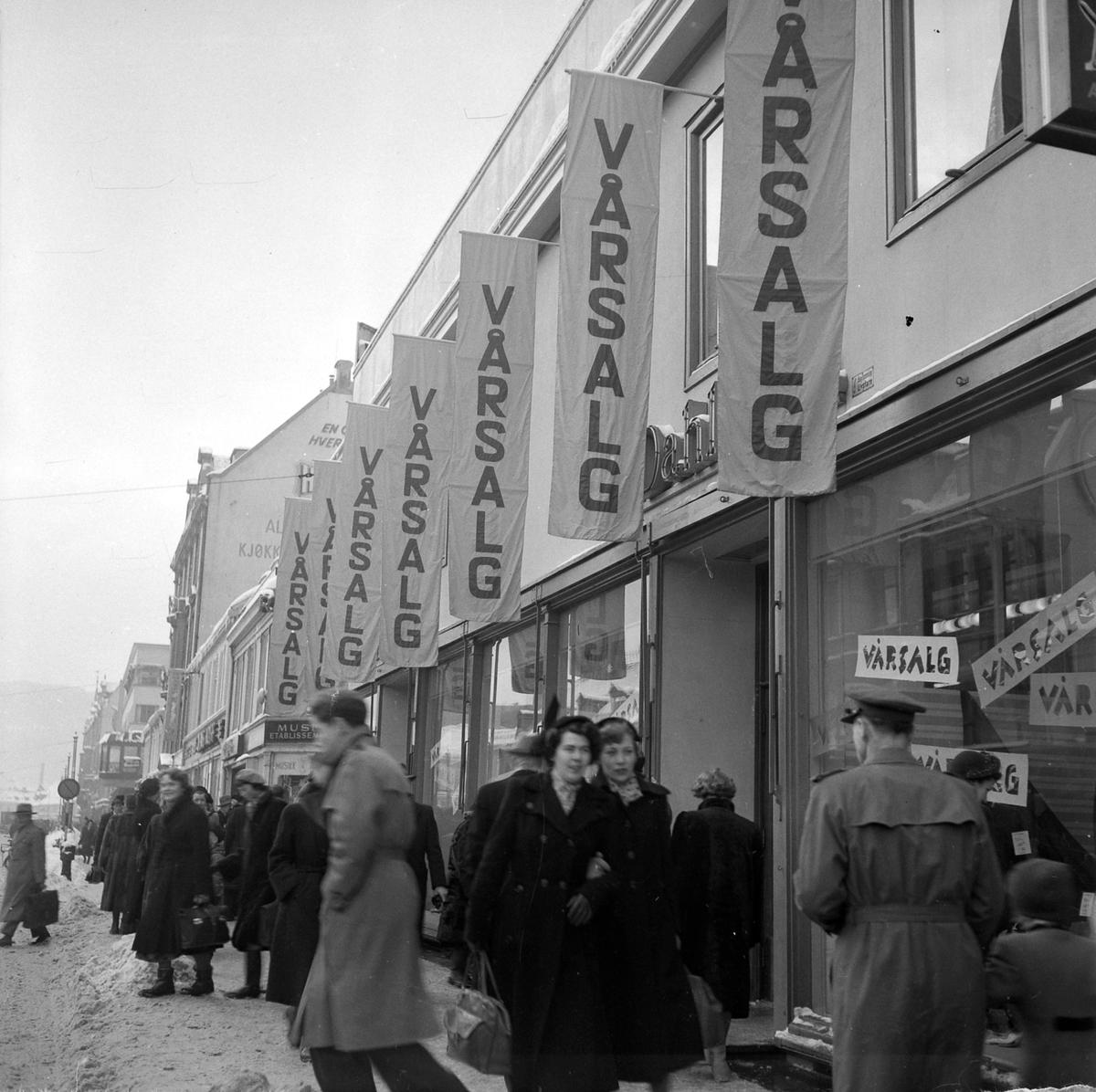Salg hos H. Klein og A. Dahl
