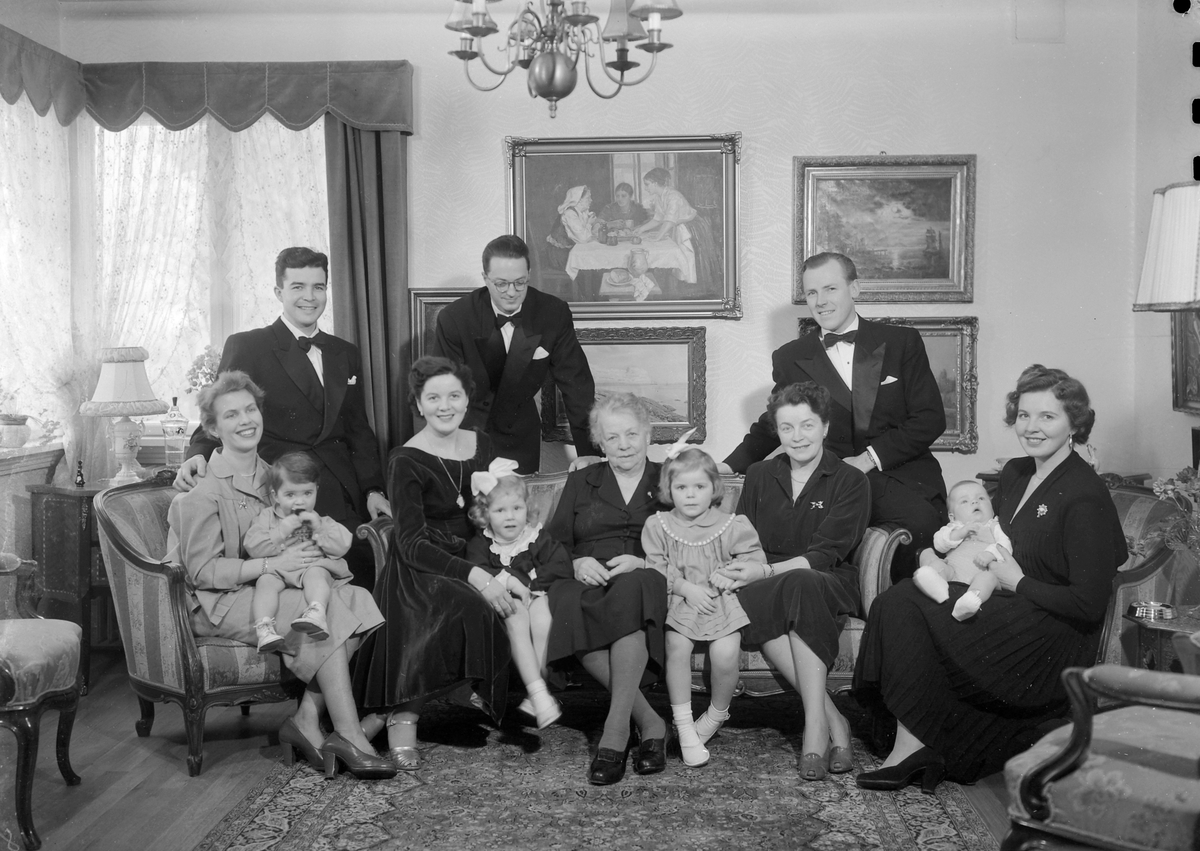 Ingrid Rognes med familie