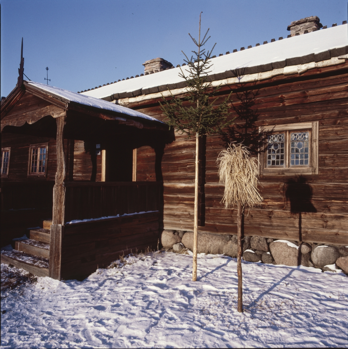 Älvrosgården på Skansen. Interiör och exteriör