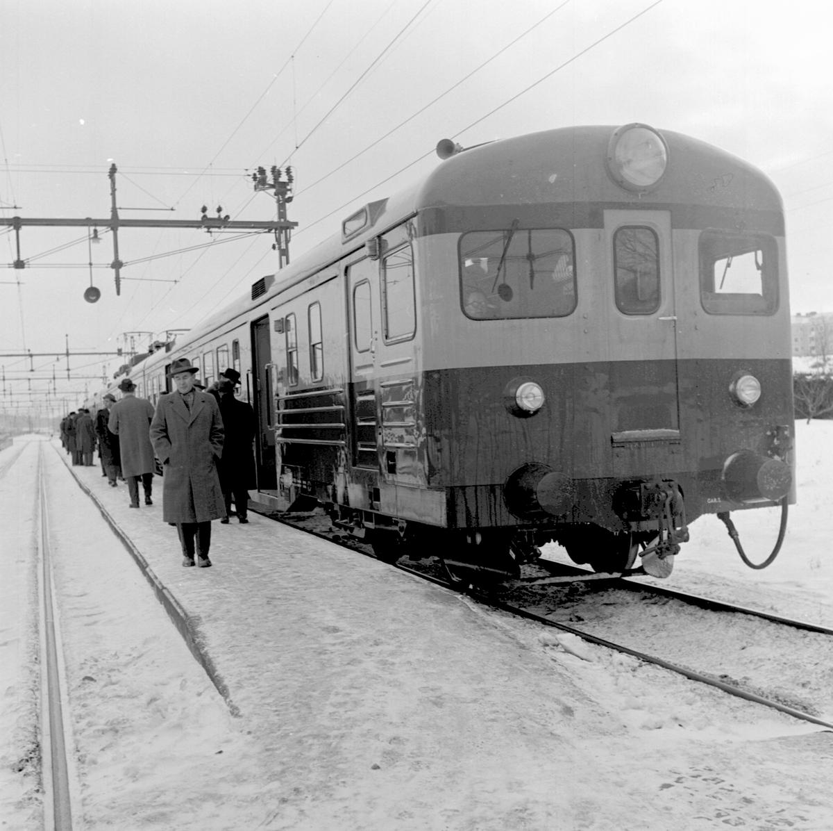 Statens Järnvägar, SJ XOa6 på provtur.