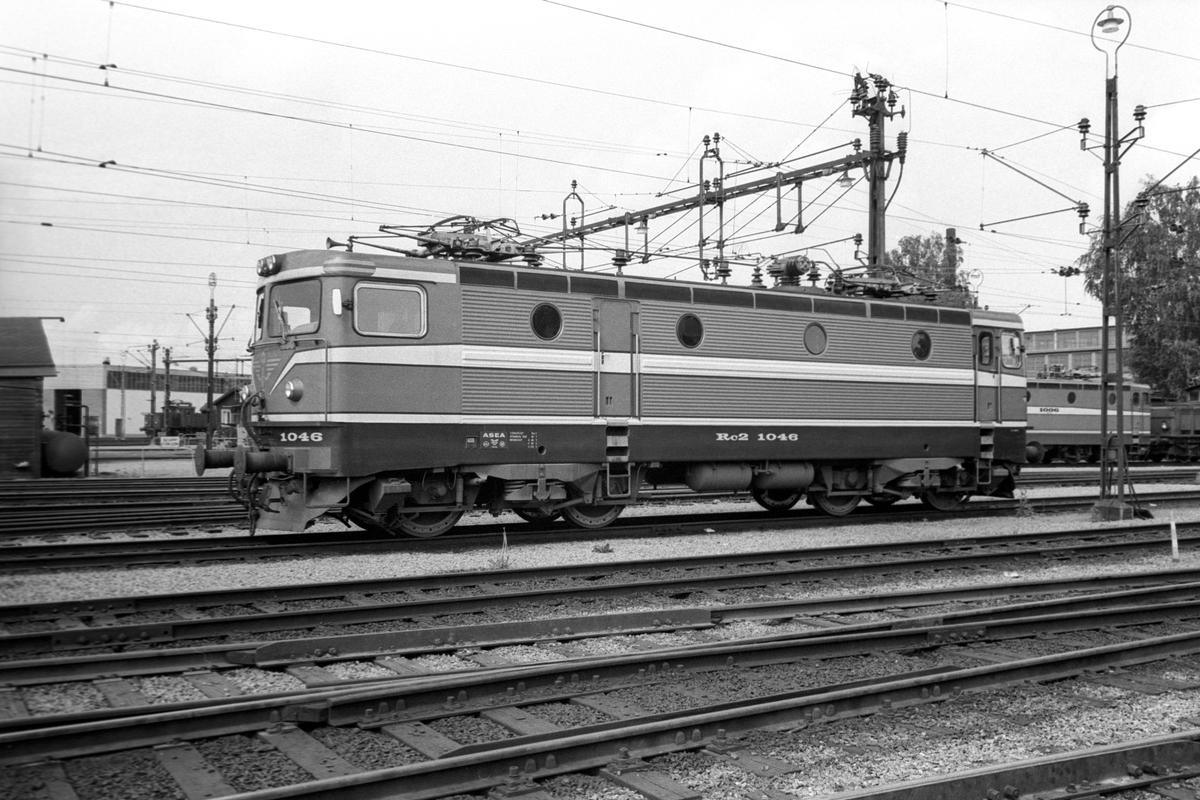 Statens Järnvägar SJ Rc2 1046.