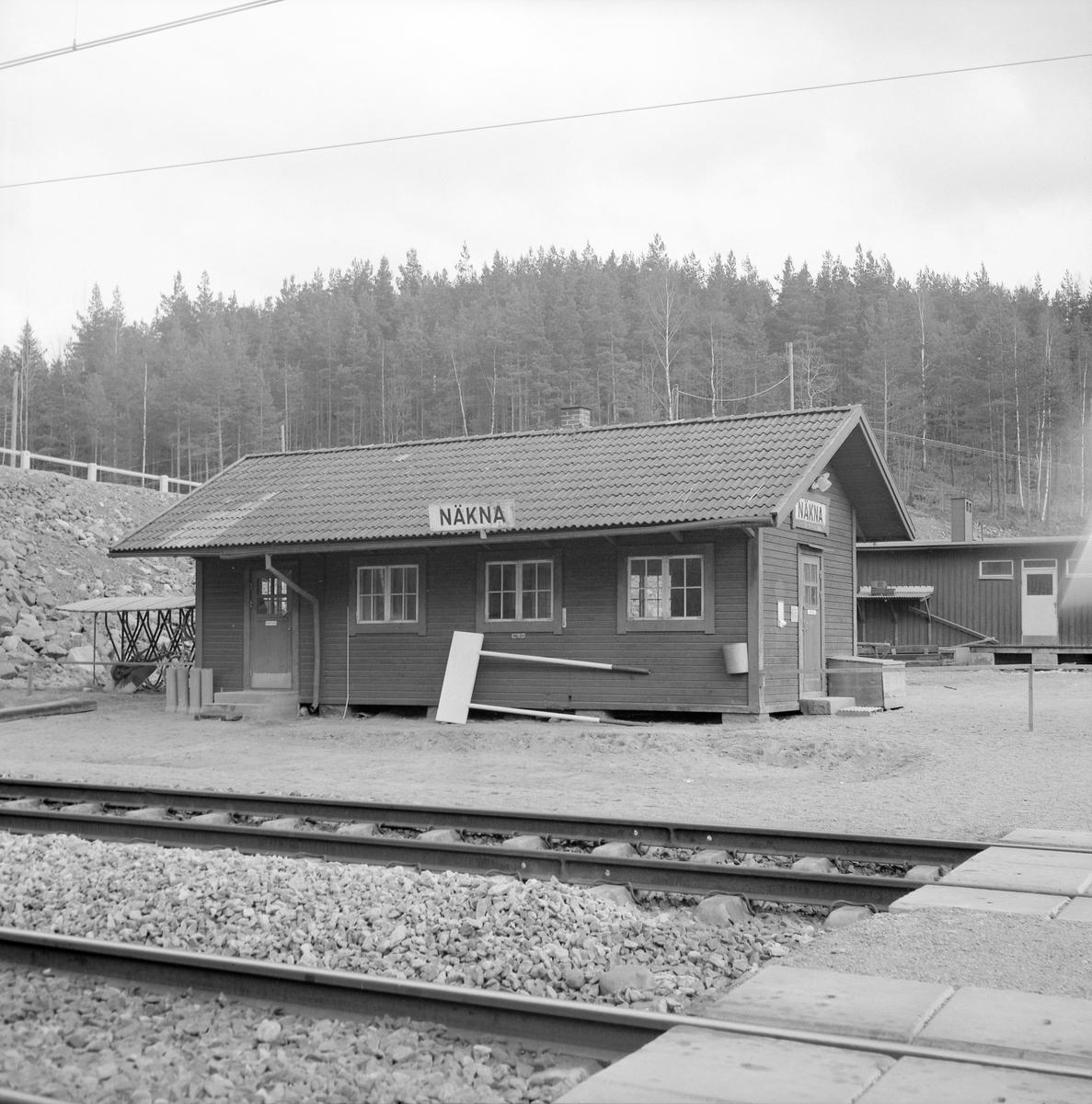 Näkna hållplats, Katerineholm-Åby.