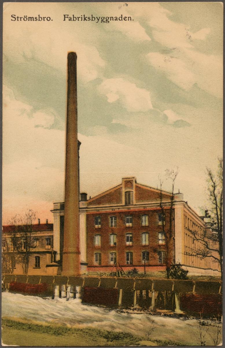 Strömsbro textilfabrik.