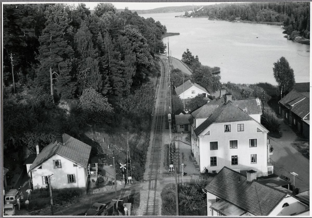 Vy över Verkebäck, på sträckan mellan Verkebäck och Jenny.