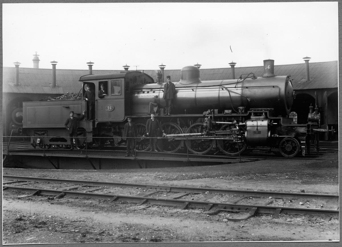 Gävle - Dala Järnvägar, GDJ N3 56.