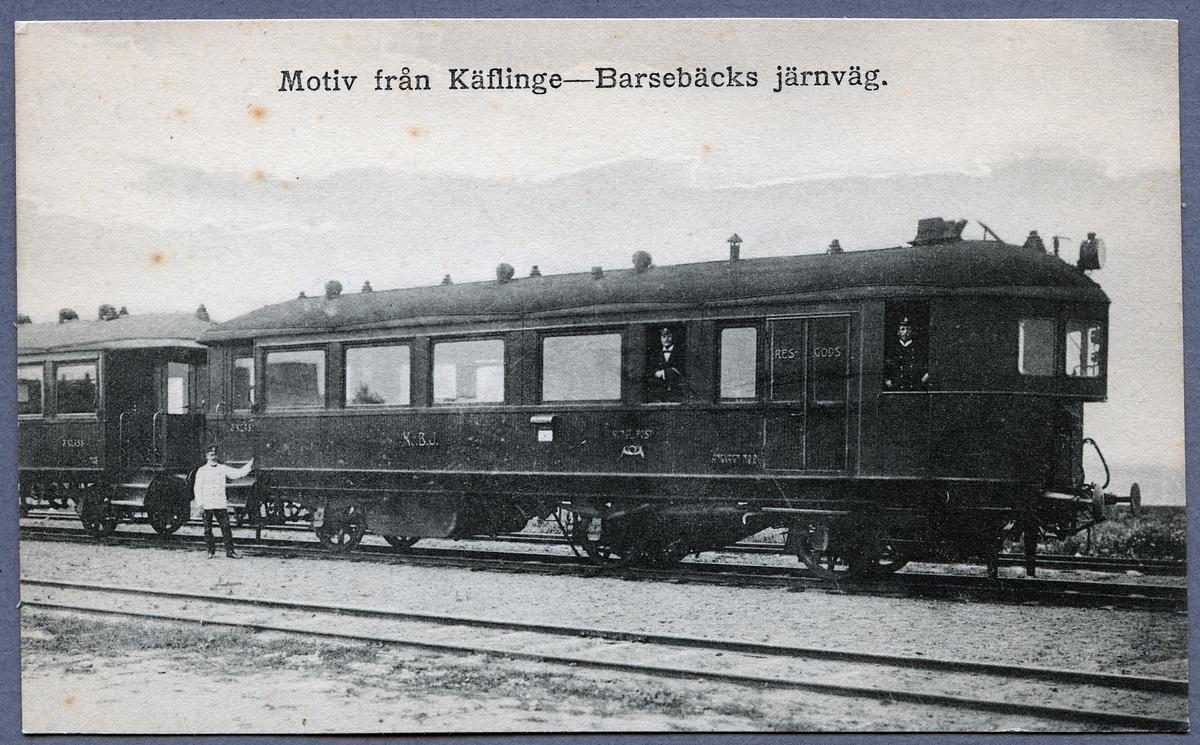 Kävlinge-Barsebäcks Järnväg, KjBJ ångvagn 2.