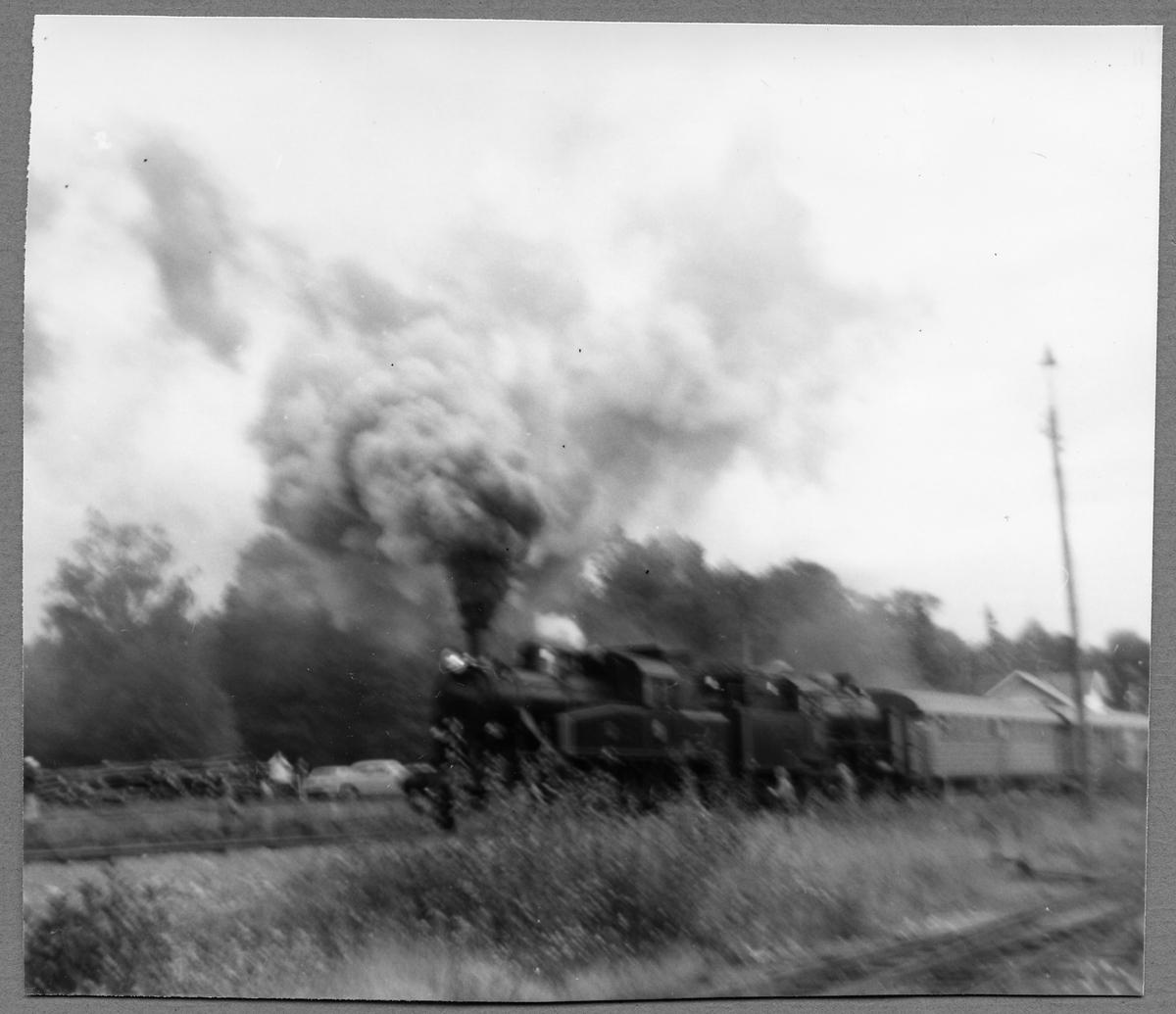 Statens Järnvägar, SJ S1 1916 och SJ A5 1545.