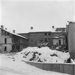 Vänersborg. Fastighet på Drottninggatan 40 rivs.