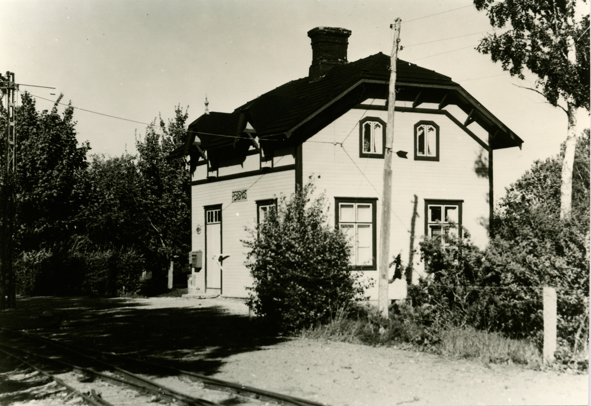 Persnäs station. Borgholm-Böda Järnväg, BBJ.