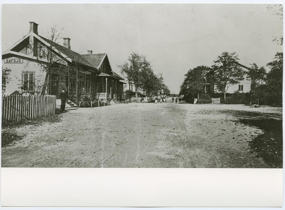 Sävsjö stationshus.
