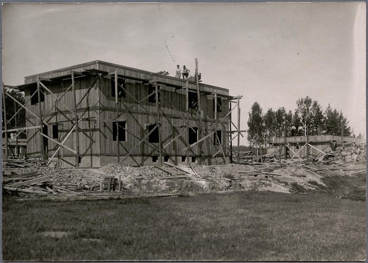 Bostadshusbyggnation i Ånge