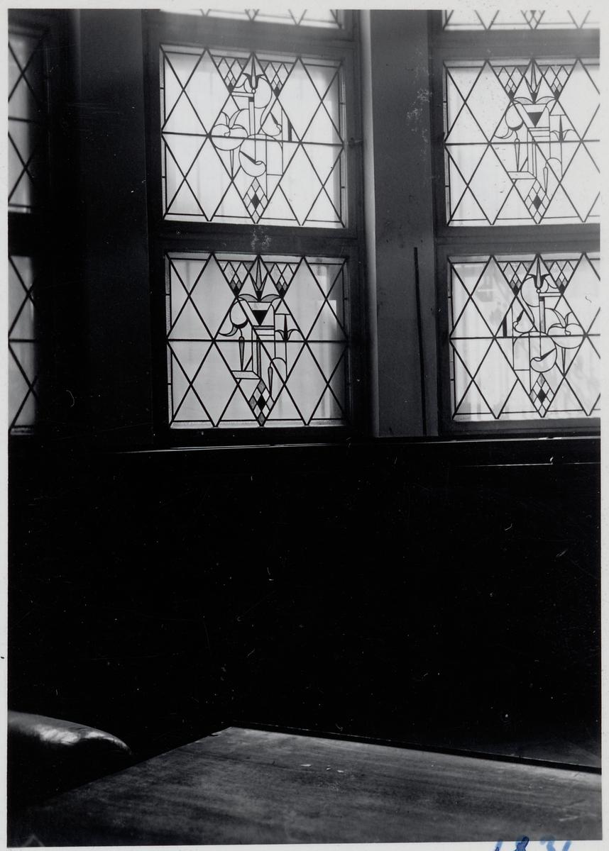 Interiör från resebyrån i Berlin, gamla lokalen.