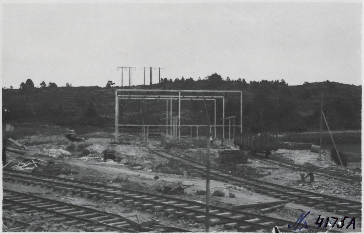 Transformatoranläggning i Fjärås.
