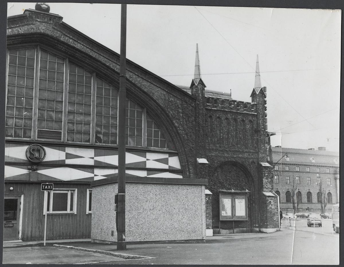 Göteborgs Centralstation från gatusidan.
